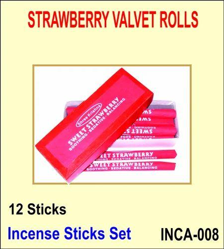 Velvet Roll Incense Sticks