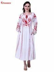 La Bella Women Dress with Embroidery