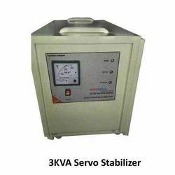 Single Phase 3KVA Servo Voltage Stabilizers