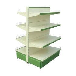 Double Sided Retail Display Rack