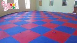 Rubber Flooring Interlocking for School