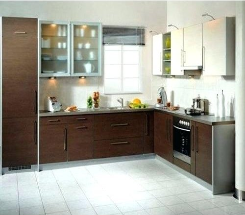 Wooden U Shape Modular Kitchen, Warranty: 1-5 Years
