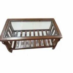 Rectangular Modern Wooden Center Table