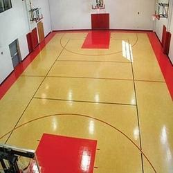 Wooden Basketball Court Flooring