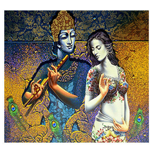Radha Krishna Wall Mural Part 9