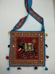 Embroidery Patchwork Bag