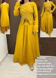 Ethnic Wear Reyon Rayon Dress, Size: L(40