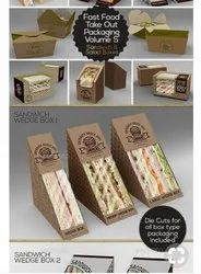 Paper Packaging Sandwich Box