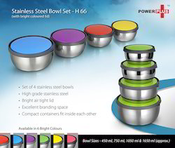 Stainless Steel Bowl Set, For Home And Hotel/Restaurant