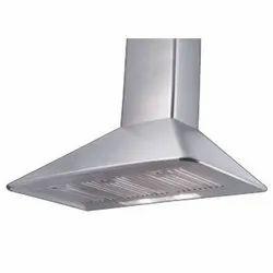 Aluminum Ceiling Mounted Modern Kitchen Chimney, Size: 99x40x54 Cm, 160 W