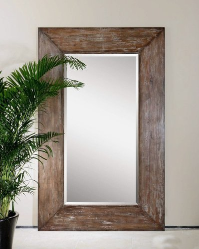 Brown Big Wooden Mirror Frames, Size/Dimension: 24 Inches Length ...
