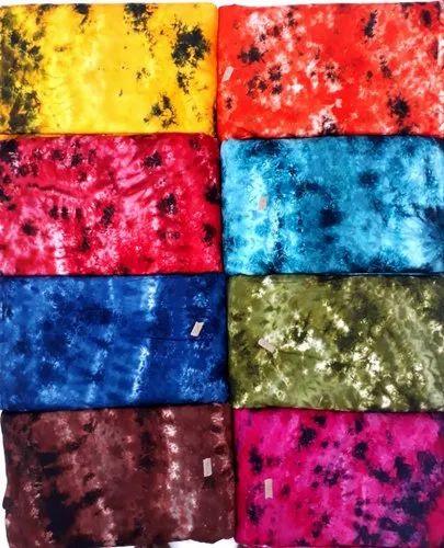 Rayon Tie Dye Print