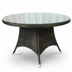 Round Garden Table, Size: 24