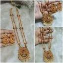 Temple Earring Necklace Set