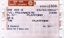 Ticket For Railway
