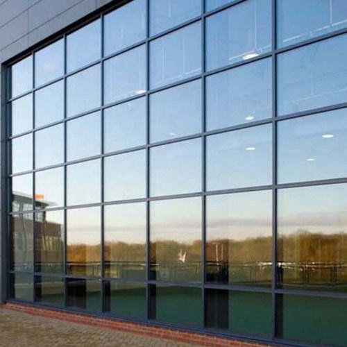 Glass Curtain Wall Glazing For Office, Rs 350 /square Feet