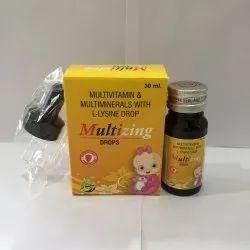 Multivitamin & Multiminerals With L Lysine Drop