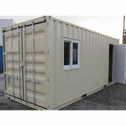 Rectangular Steel Office Container Cabin