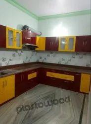 L Shape Modular Kitchen, Warranty: Life Time