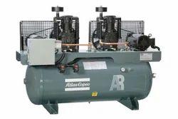 Twin Tank Mounted Air Compressor