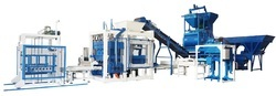 Fully Automatic Solid Block Machine