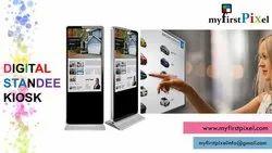 Digital Advertising Standee