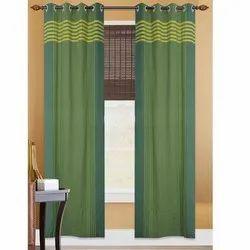 Green Designer Curtain