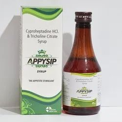Cyproheptadine HCI, & Tricholine Citrate Syrup