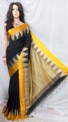 Velvet Temple Saree