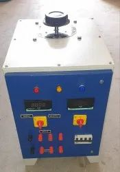 20Amp 3-Phase Auto Variable Transformer Testing Panel