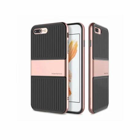 Black Rose Gold Iphone 7plus 8 Plus Baseus Full Protective Slim