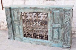 Rogue Valley Vintage, Old World Style, Tall Cabinet Style Foyer Liquor Wine Cabinet