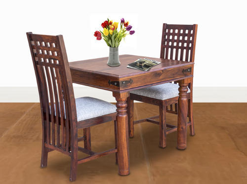 Maple Finish Furniselan Fancy 2 Seater Dining Table Set Rs 20700
