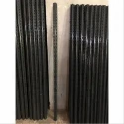 Paint And Powder Coated Finish Mild Steel Slotted Angle, 0.2 To 0.3 Kgs