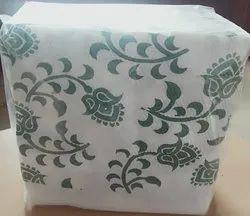 Paper White Printed Napkin, Size: 30cmx30cm, 40cmx40cm