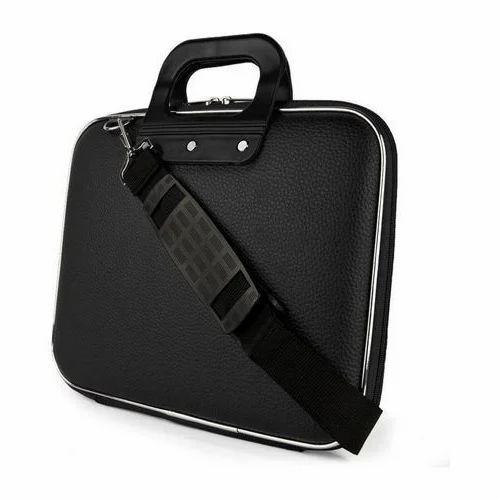 Leather Plastic Plain Mens Laptop Bag