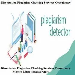 Plagiarism Checking Services Consultancy Service Provider