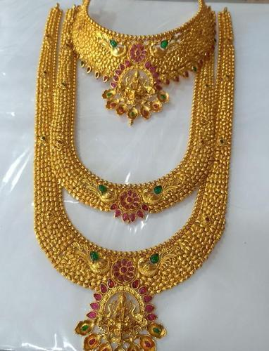 dd6627cc59 Copper Bridal Jewellery Set, दुल्हन के लिए शादी के ...
