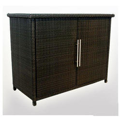 Carry Bird Outdoor Wicker Cabinet
