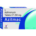 Azithromycin 250 mg Tablets