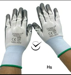 Rubber Hand Gloves With Cotton Lining