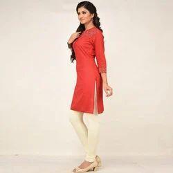 Roswel Cotton 96% Lycra 4% Ladies Plain Legging, Size: Free