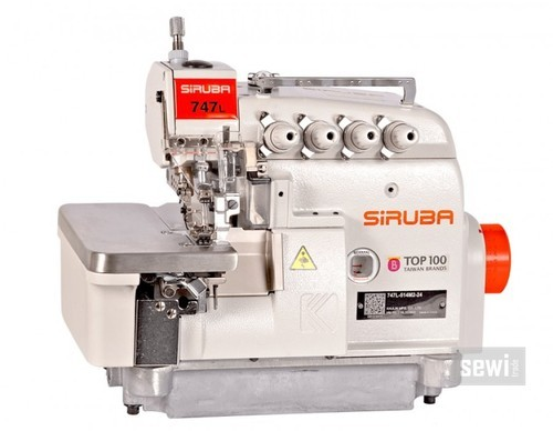 SIRUBA 40L UsageApplication Textile Industry ID 40 Gorgeous Siruba Sewing Machine Price List
