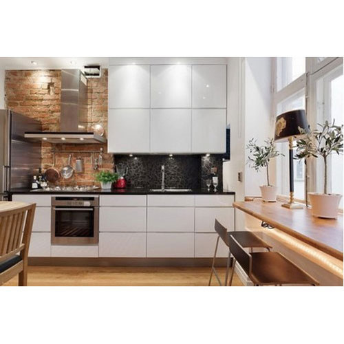 MDF Kitchen Cabinet, Rs 1200 /square feet, Kanappilly ...