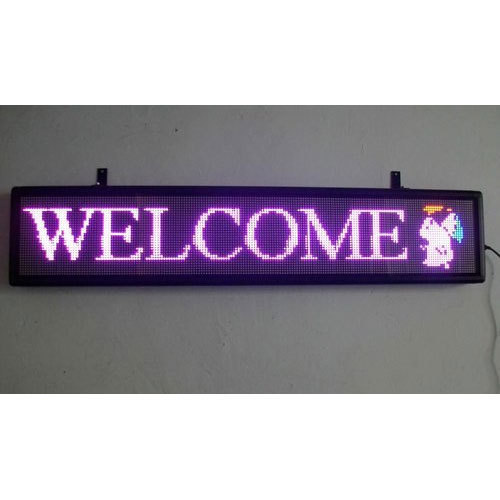 Acrylic LED Scrolling Display, Commercial