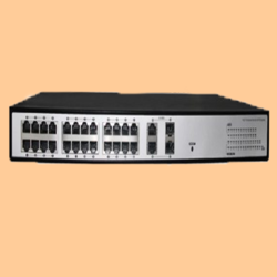 POE Switcher - 24 Port With Fiber Gigabyte Ports