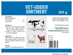 Vet - Udder Ointment ( Anti- Mastitis )