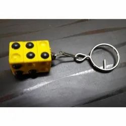 Pocket Braille Learning Device with Keyring
