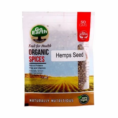 Go Earth Organic Hemps Seeds, Pack Size: 5 & 25 Kg
