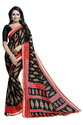 Women's Fancy Georgette Saree With Lace